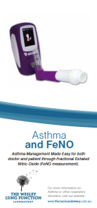 asthma & FeNo