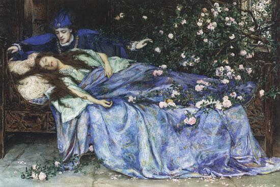 MRP_ Henry_Meynell_Rheam_-_Sleeping_Beauty